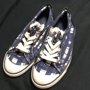 Lightly used Coach sneakers really nice design